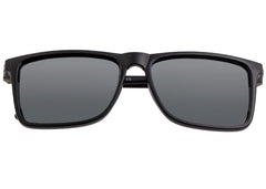 Breed Caelum Polarized Sunglasses - Black/Black