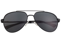 Breed Lyra Polarized Sunglasses - Black/Black