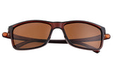 Simplify Ellis Polarized Sunglasses - Brown/Brown SSU123-BN