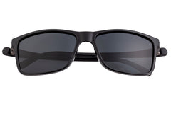 Simplify Ellis Polarized Sunglasses - Gloss Black/Black