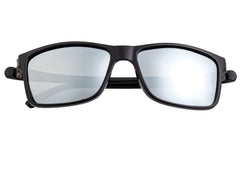 Simplify Ellis Polarized Sunglasses - Black/Silver