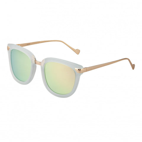 Bertha Jenna Polarized Sunglasses - Mint/Gold-Green BRSBR029CB