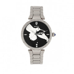 Bertha Nora Bracelet Watch - Black/ Silver
