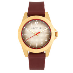 Morphic M84 Series Strap Watch - Maroon MPH8402