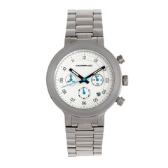 Morphic M78 Series Chronograph Bracelet Watch - Silver/White