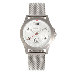 Morphic The M80 Series Bracelet Watch w/Date - Silver/White