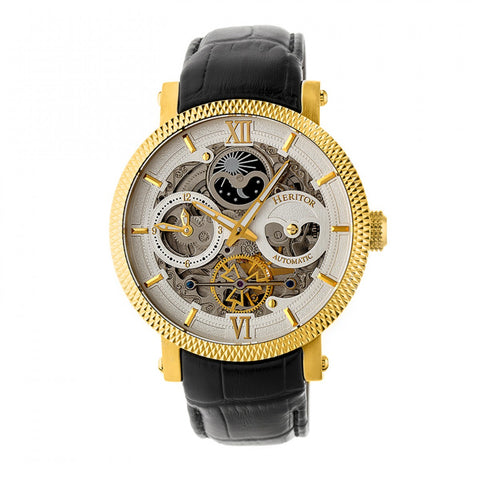 Heritor Automatic Hr4406 Aries Mens Watch