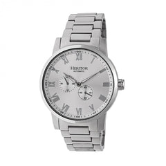 Heritor Automatic Romulus Bracelet Watch - Silver