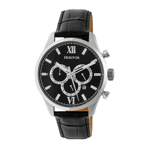 Heritor Automatic Hr6802 Benedict Mens Watch