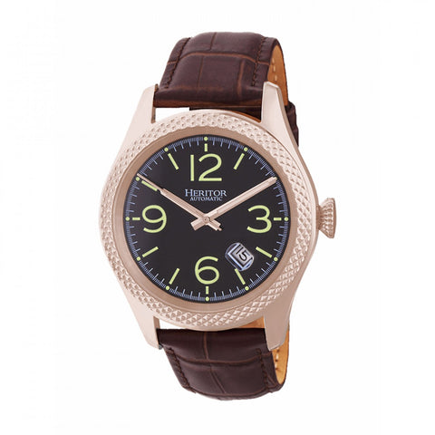 Heritor Automatic Hr7107 Barnes Mens Watch