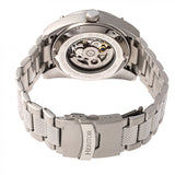 Heritor Automatic Daniels Semi-Skeleton Bracelet Watch - Silver HERHR7401