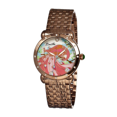 Bertha Didi MOP Ladies Bracelet Watch - Rose Gold BTHBR2803