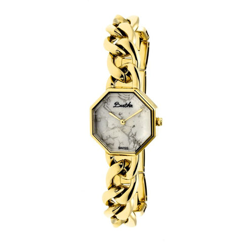 Bertha Ethel Ladies Swiss Bracelet Watch - Gold BTHBR5802