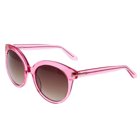 Bertha Violet Polarized Sunglasses - Pink/Brown BRSBR012P