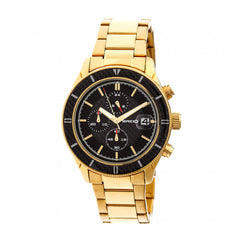 Breed Maverick Chronograph Bracelet Watch w/Date - Gold