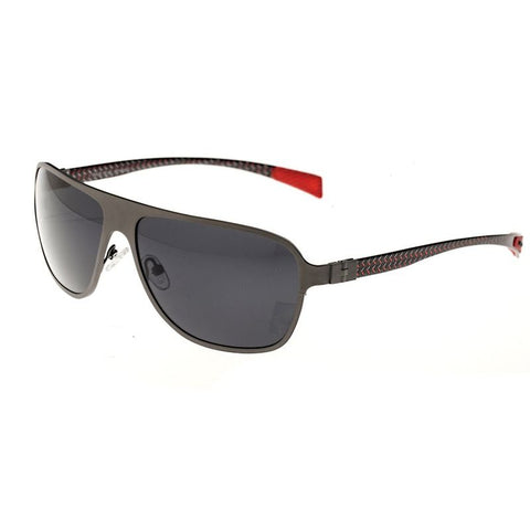 Breed Atmosphere Titanium and Carbon Fiber Polarized Sunglasses -Gunmetal/Black BSG004GM