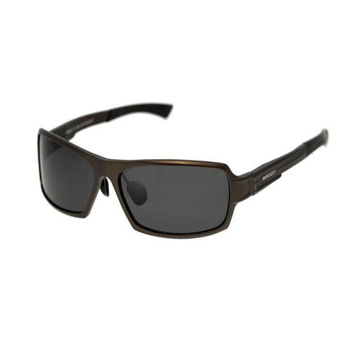 Breed Cosmos Aluminium Polarized Sunglasses - Brown/Black BSG013BN