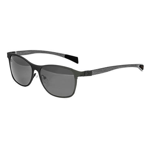 Breed Templar Titanium Polarized Sunglasses - Gunmetal/Black BSG035GM
