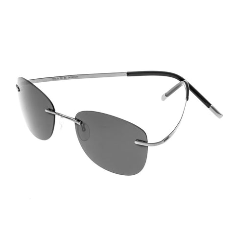 Breed Adhara Polarized Sunglasses - Gunmetal/Black BSG043GM
