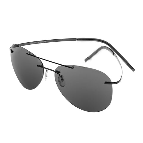 Breed Luna Polarized Sunglasses - Black/Black BSG044BK