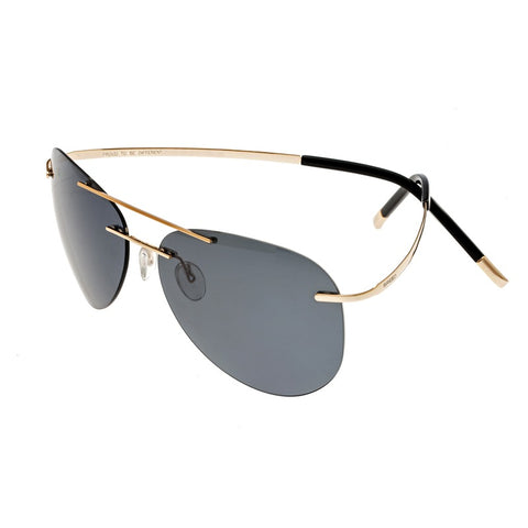Breed Luna Polarized Sunglasses - Gold/Black BSG044GD