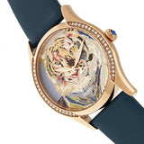 Bertha Annabelle Leather-Band Watch - Navy BTHBR9206
