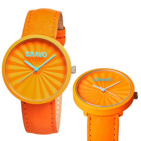 Crayo Cr1504 Pleats Watch