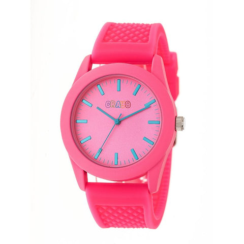 Crayo Storm Quartz Watch - Pink CRACR3706