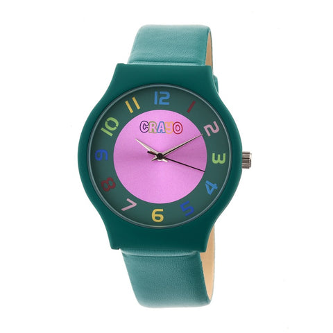 Crayo Jubilee Strap Watch - Teal CRACR4605