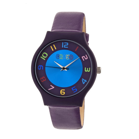 Crayo Jubilee Strap Watch - Purple CRACR4606