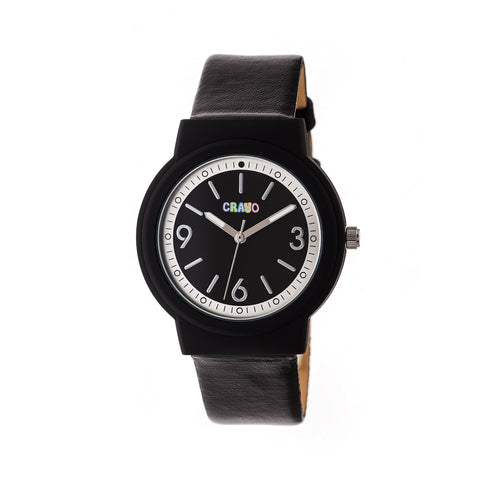 Crayo Vivid Strap Watch - Black CRACR4702