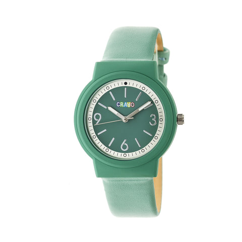 Crayo Vivid Strap Watch - Seafoam CRACR4704