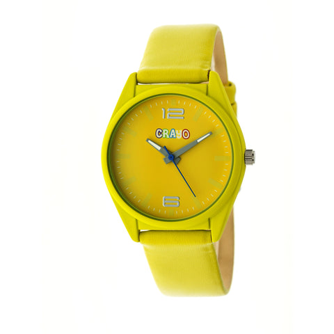 Crayo Dynamic Strap Watch - Yellow CRACR4804