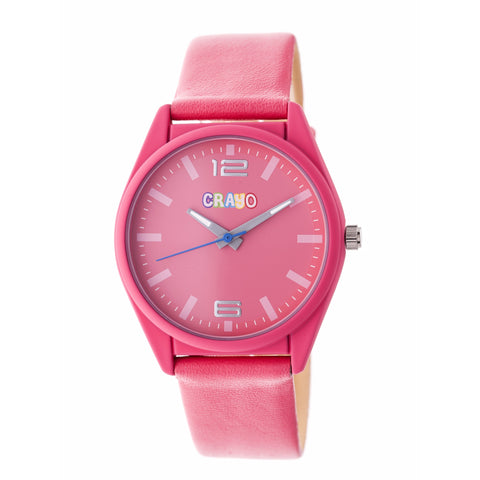 Crayo Dynamic Strap Watch - Pink CRACR4807