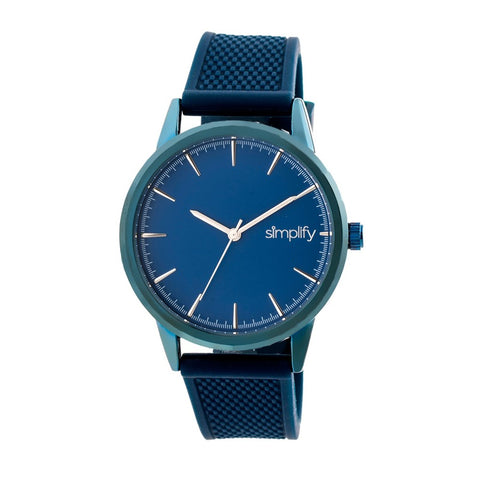 Simplify The 5200 Strap Watch - Navy SIM5206