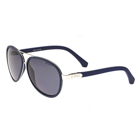 Simplify Stanford Polarized Sunglasses - Silver/Black SSU115-BL