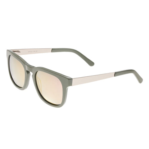 Sixty One Twinbow Polarized Sunglasses - Mint/Rose Gold SIXS132RG