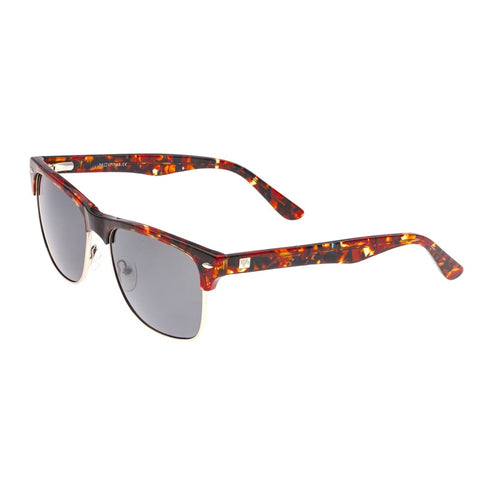 Sixty One Wajpio Polarized Sunglasses - Dark Brown Tortoise/Black SIXS136BK