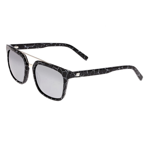 Sixty One Lindquist Polarized Sunglasses - Black Marble/Silver SIXS137SL