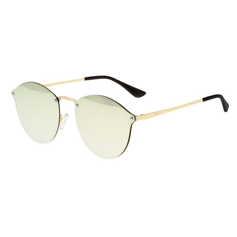 Sixty One Picchu Polarized Sunglasses - Gold/Gold SIXS143GG