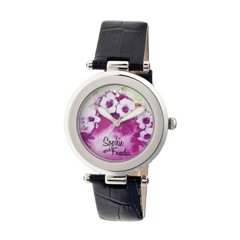 Sophie & Freda Versailles Ladies Watch - Black SAFSF1501