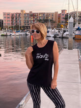 """it's a NAUTI thing"" Ladies' Sleeveless Top Black, Heather Grey, White or Pale Pink"