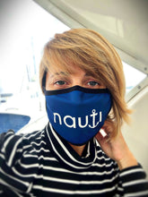 """NAUTI"" 3-layer Unisex Reusable Cooling Face Mask with soft Adjustable ear Loops & Nose Clip"