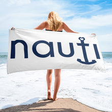 """NAUTI girl"" Beach Towel"