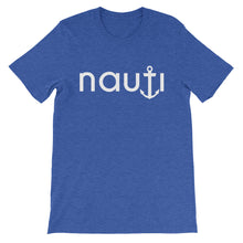 """Nevis"" NAUTI Men's Anchor Super Soft T-Shirt CLICK for more color options"