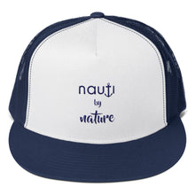"""Aruba"" NAUTI by Nature Unisex Men / Ladies' Anchor Trucker Cap CLICK for more colors"