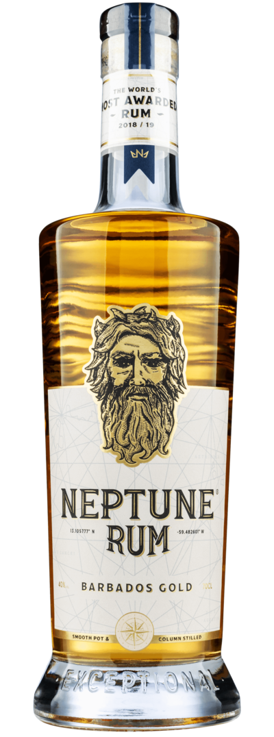 Neptune Rum Barbados Gold - The World's Most Awarded Rum of 2018/19