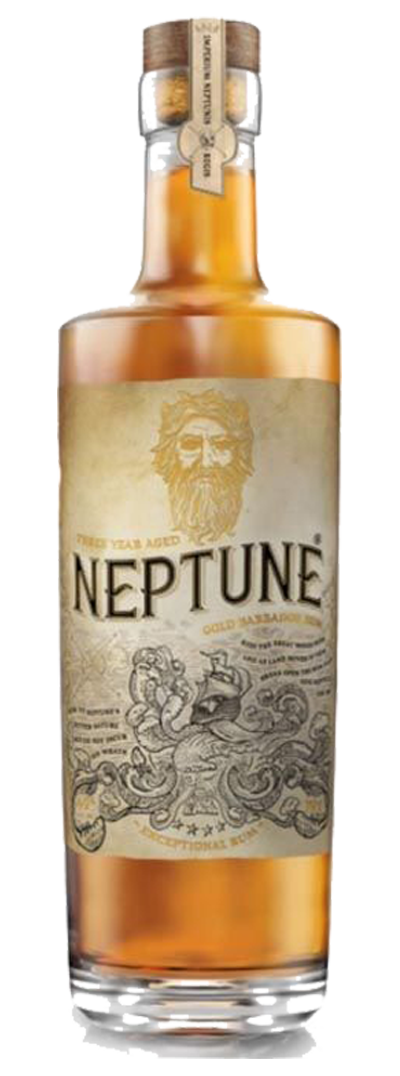 Neptune Rum Barbados Gold Manhattan 70cl (Same great product, old-school bottle)