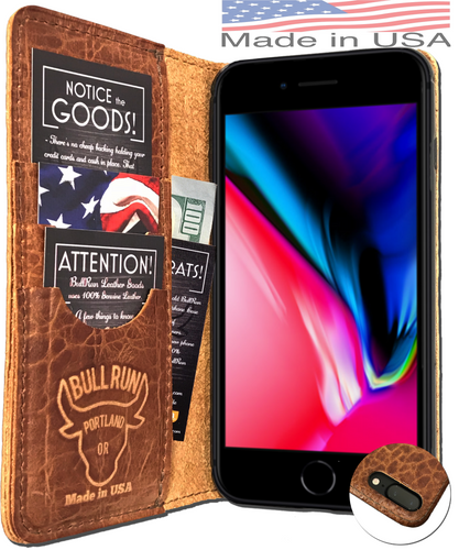 iPhone 8 Plus Dark Brown (Limited Distressed Leather)