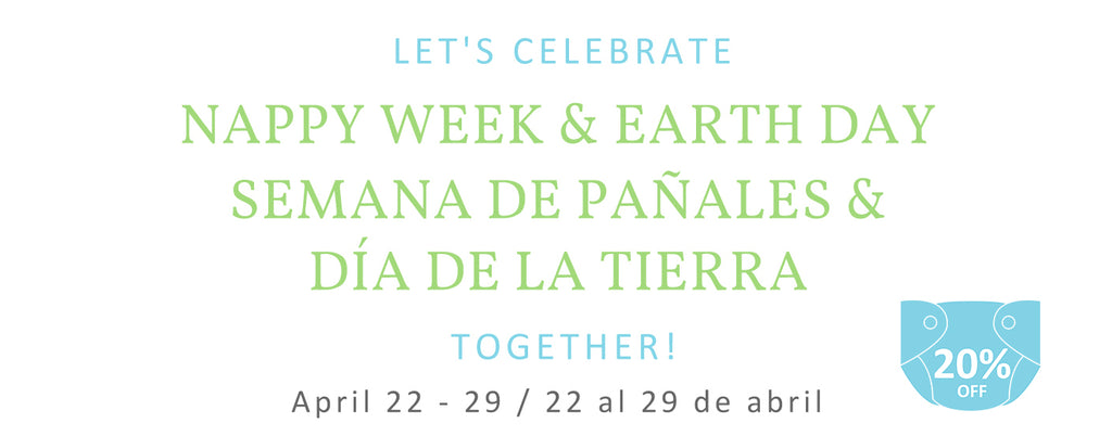 Let's celebrate Real Nappy Week and Earth Day together!
